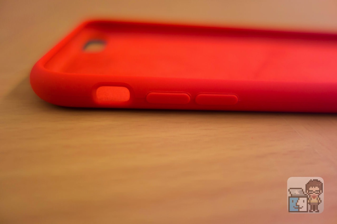 Unboxing iphone 6s plus silicone case product red10