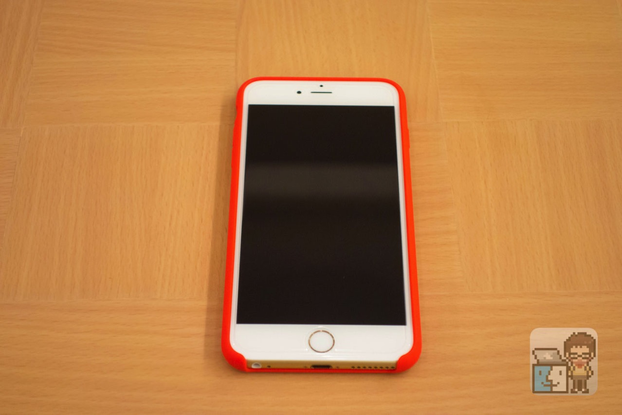 Unboxing iphone 6s plus silicone case product red6