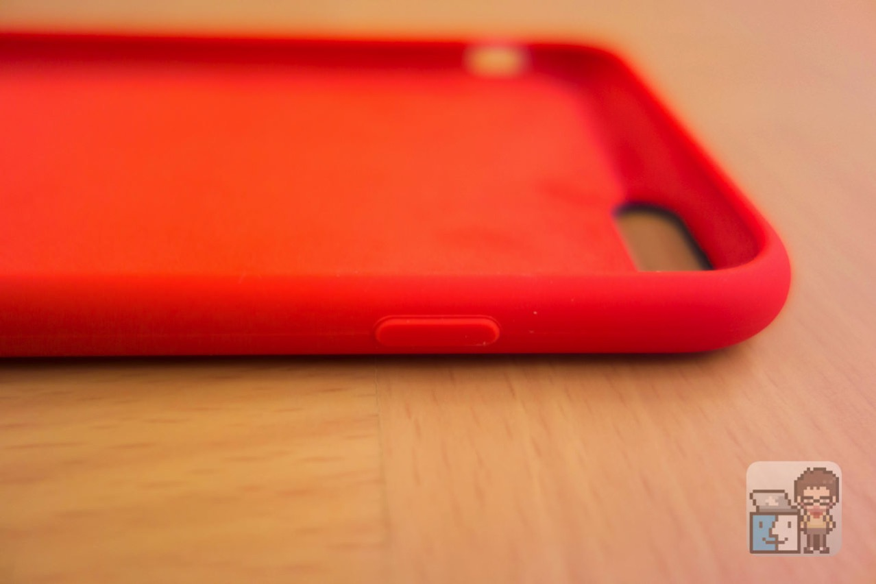 Unboxing iphone 6s plus silicone case product red8