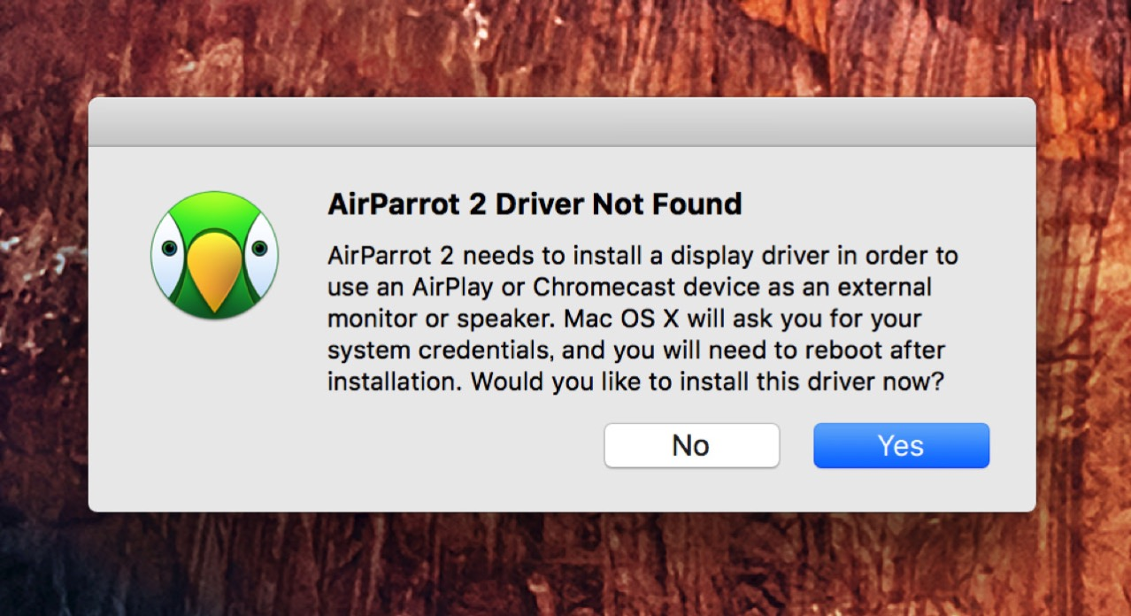 how to connect airparrot 2 to apple tv