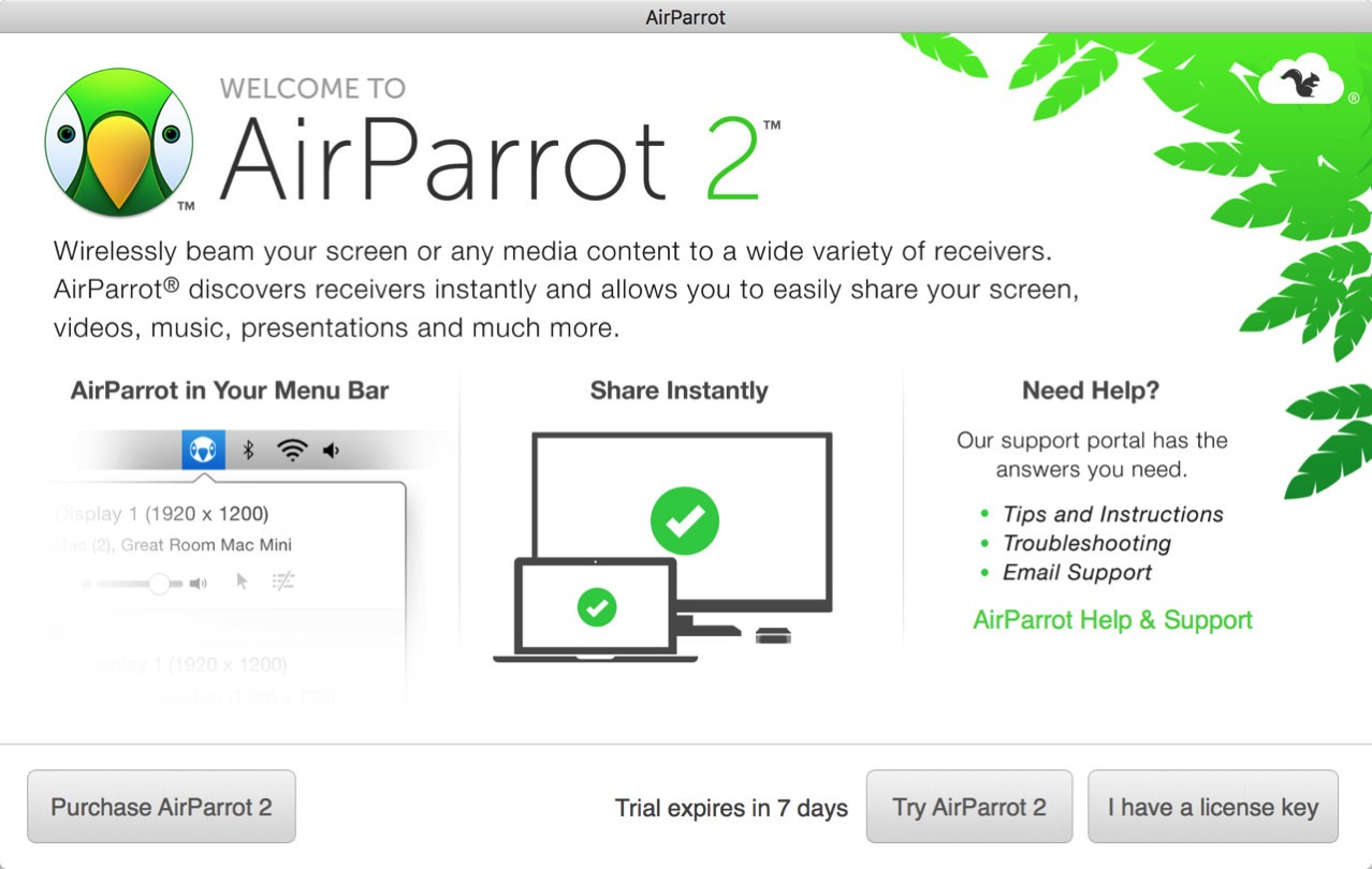 Airparrot 25