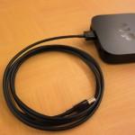 【レビュー】「Apple TV」の配線をスマートに整理したいときは、Apple純正のHDMIケーブルがおすすめ!