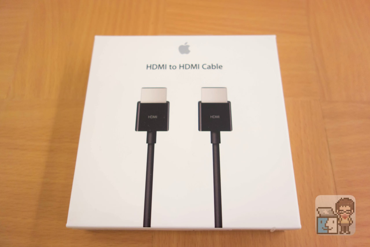 Apple hdmi to hdmi cable unboxing7