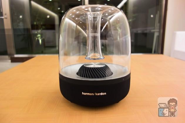 【レビュー】近未来の美しいデザイン!「Bluetooth / AirPlay」対応のワイヤレススピーカー「harman/kardon AURA 」
