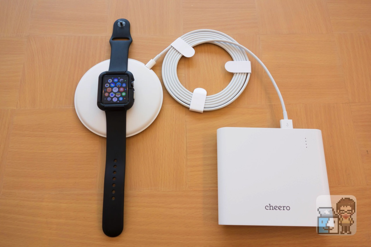 Unboxing apple watch magnetic charging dock7