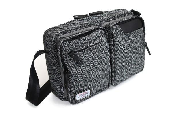 国立商店「タブレットのための小型ショルダーバッグ ハリスツイード別注モデル」予約注文開始