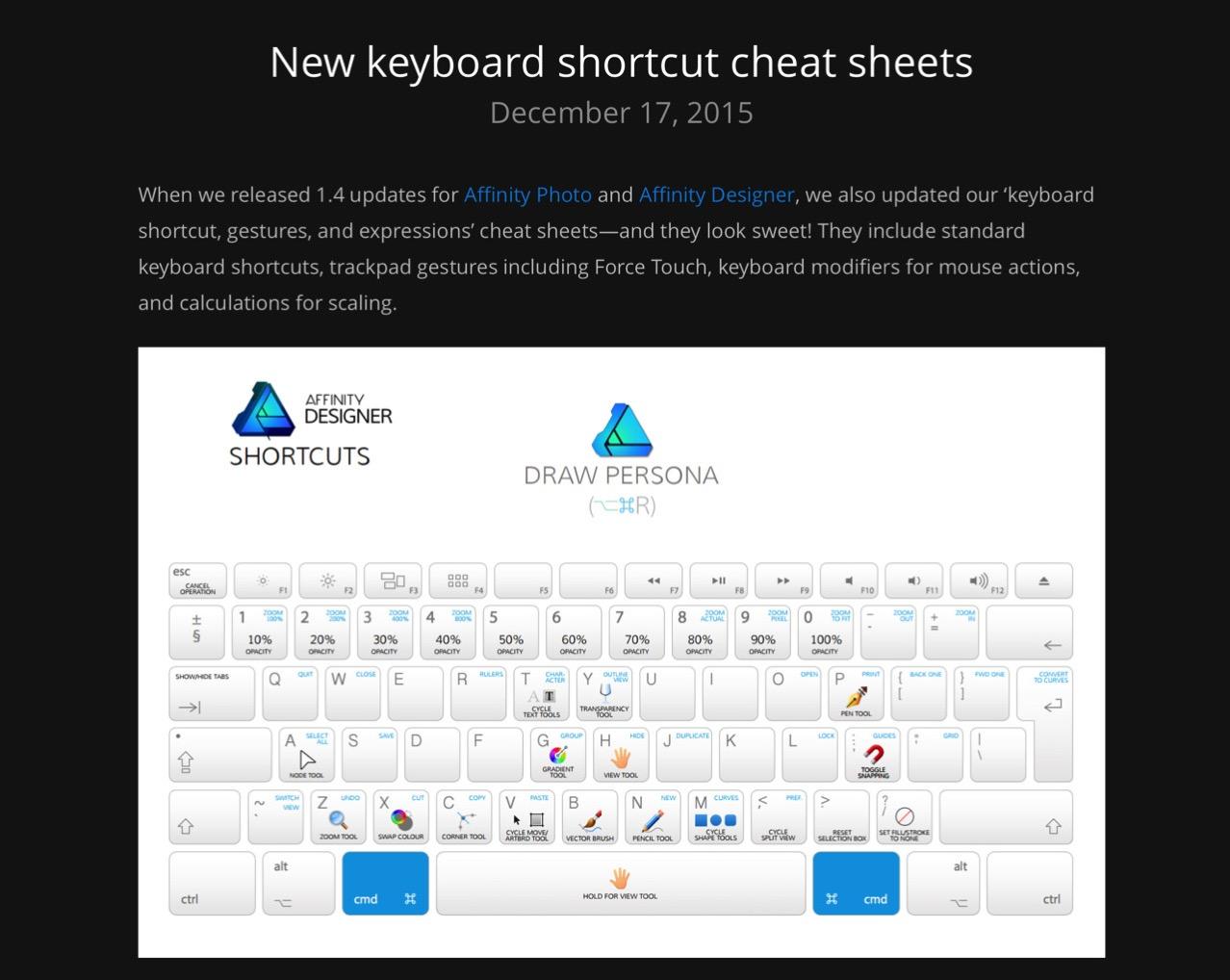 Affinity designer and affinity photo cheat sheet3