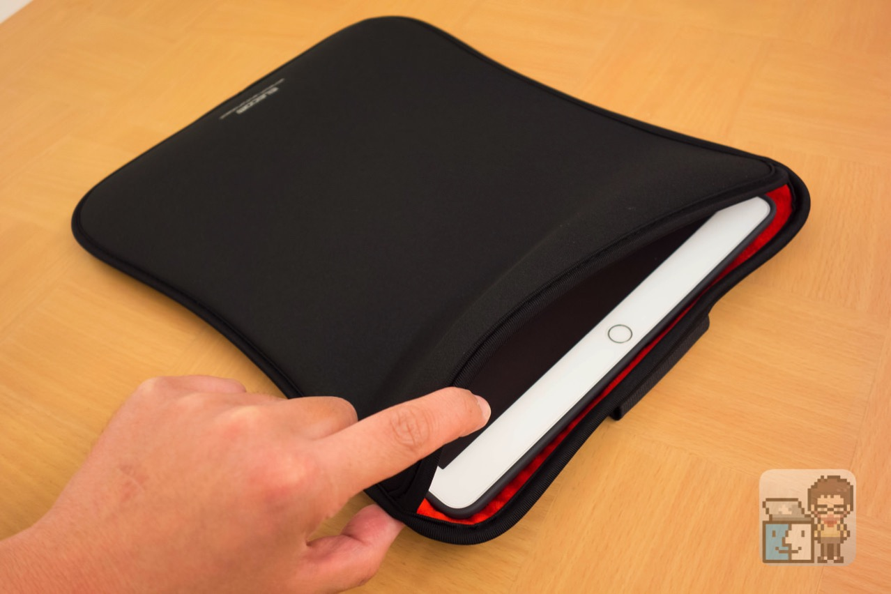 Elecom ipad pro slip in pouch1