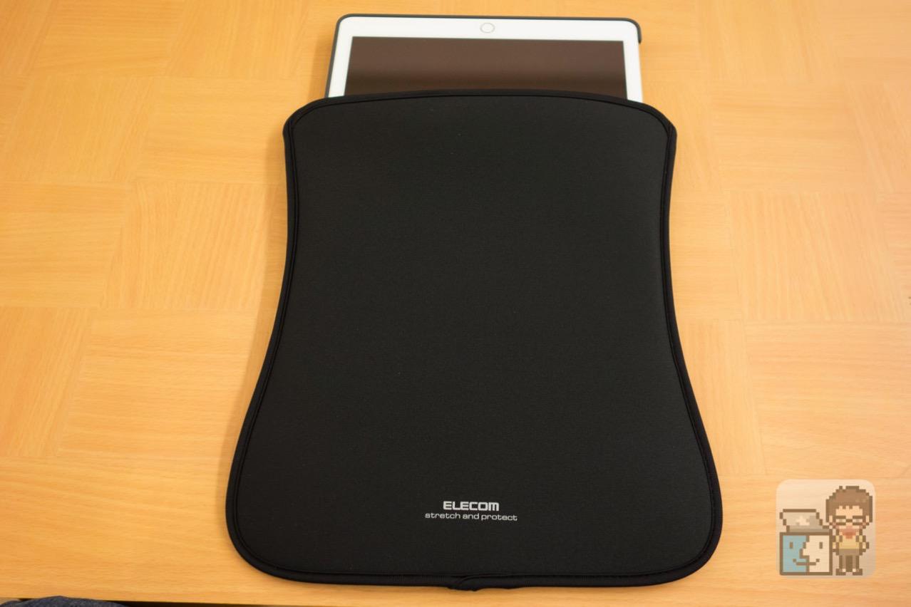 Elecom ipad pro slip in pouch2