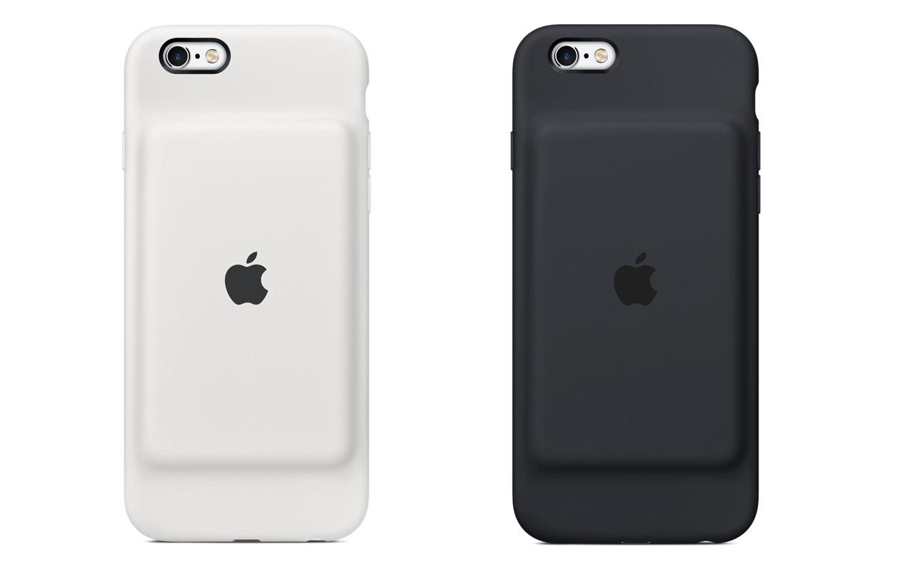 これは予想外!Appleが「iPhone 6/6s」用の純正バッテリー内蔵ケース「Smart Battery Case」発売開始!