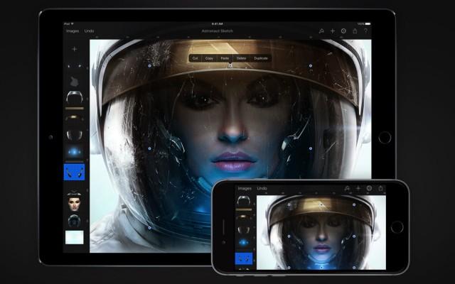 iOS画像編集アプリ「Pixelmator」がバージョン2.2で「iPad Pro」「Apple Pencil」「3D Touch」に対応