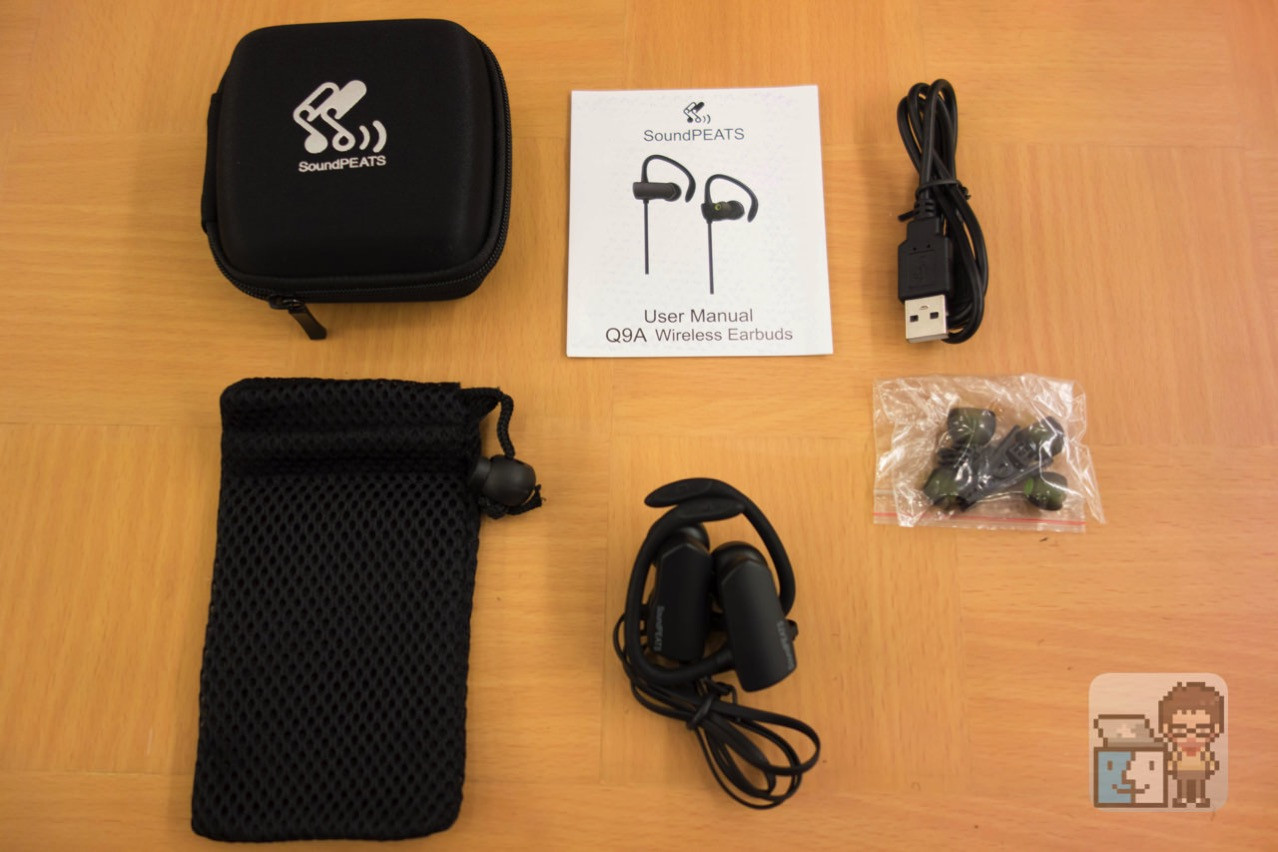 Soundpeats bluetooth headphone q9a9