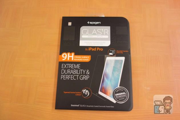 【レビュー】iPad Pro 液晶保護フィルム Spigen 「iPad Pro GLAS.tR SLIM」を試してみた
