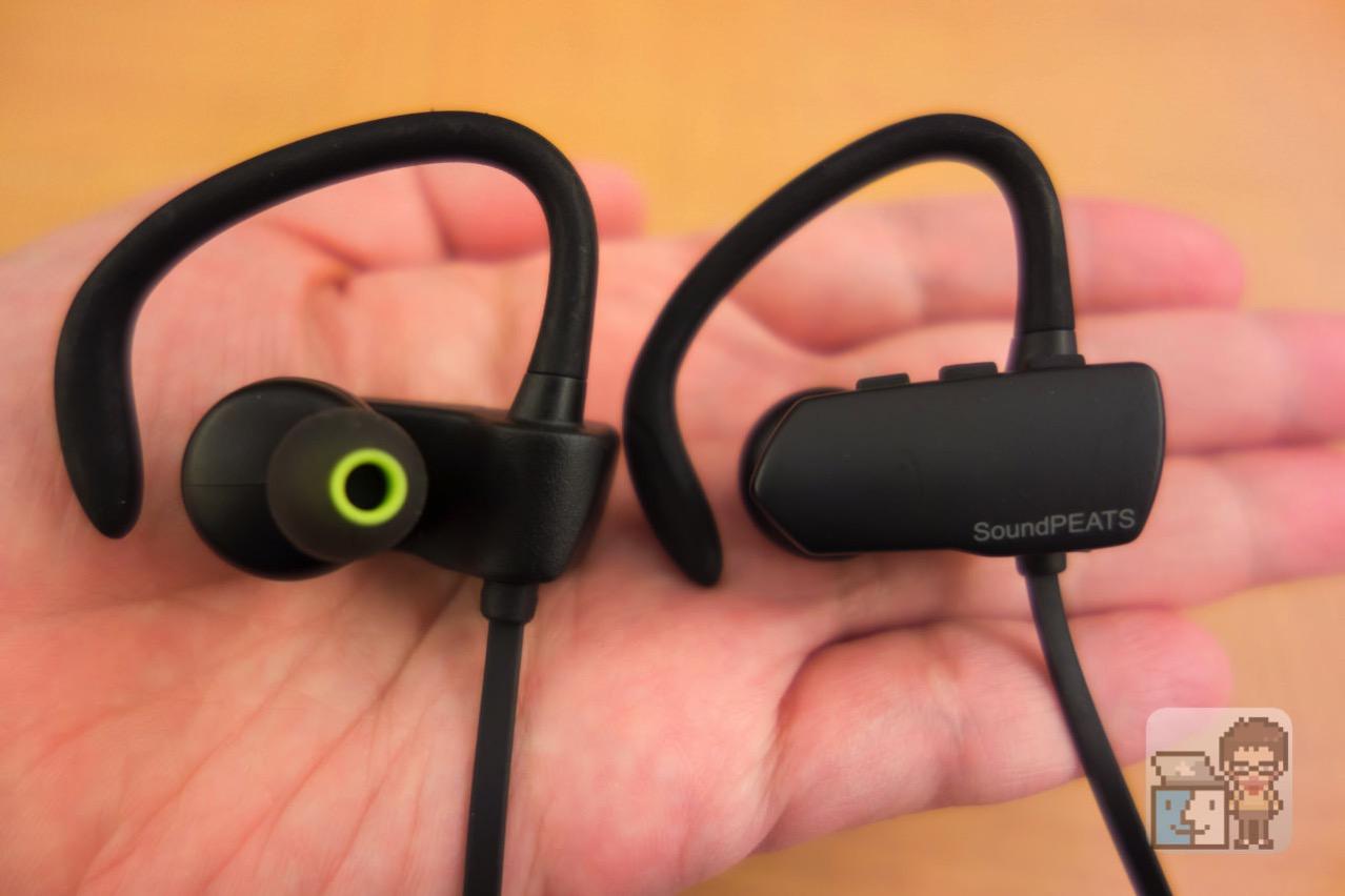 【レビュー】運動しても外れない!Bluetooth ワイヤレススポーツイヤホン「SoundPEATS Q9A」を試してみた
