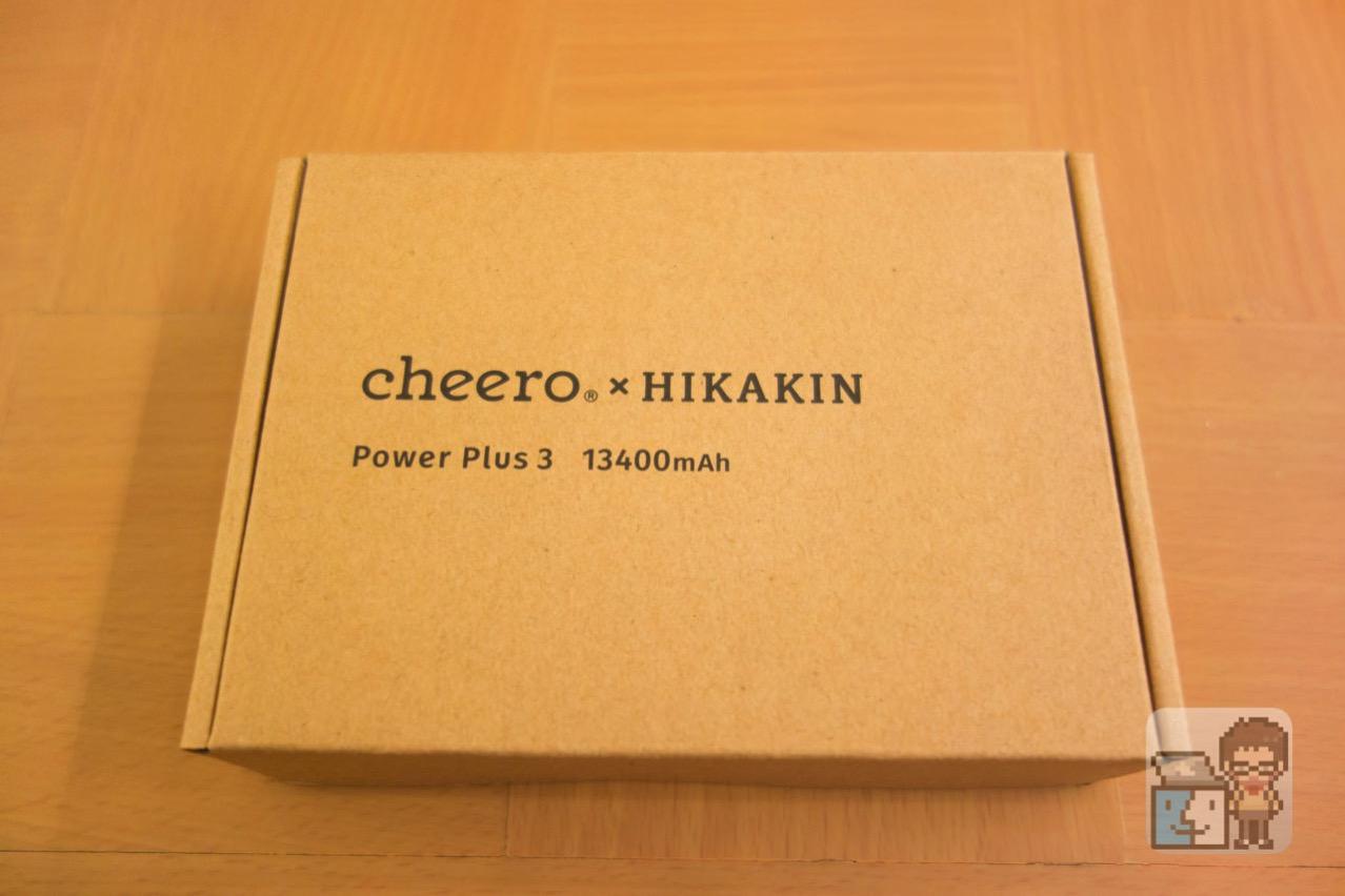 Cheero power plus 3 13400mah hikakin model10