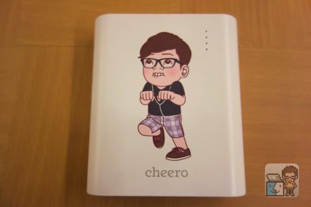 【レビュー】これは可愛い!ヒカキン(HIKAKIN)とコラボしたモバイルバッテリー「cheero Power Plus 3」