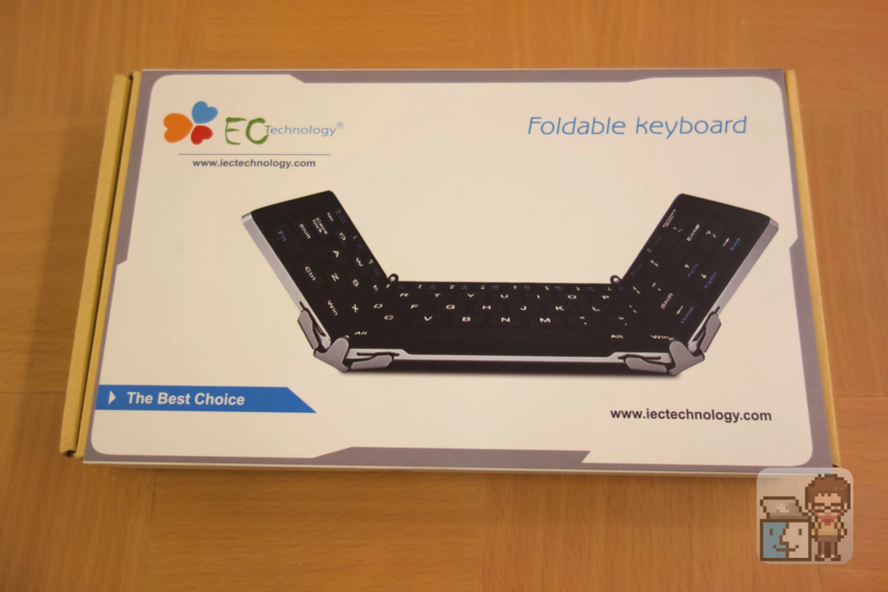 Ec technology bluetooth folding flat screen wireless keyboard11