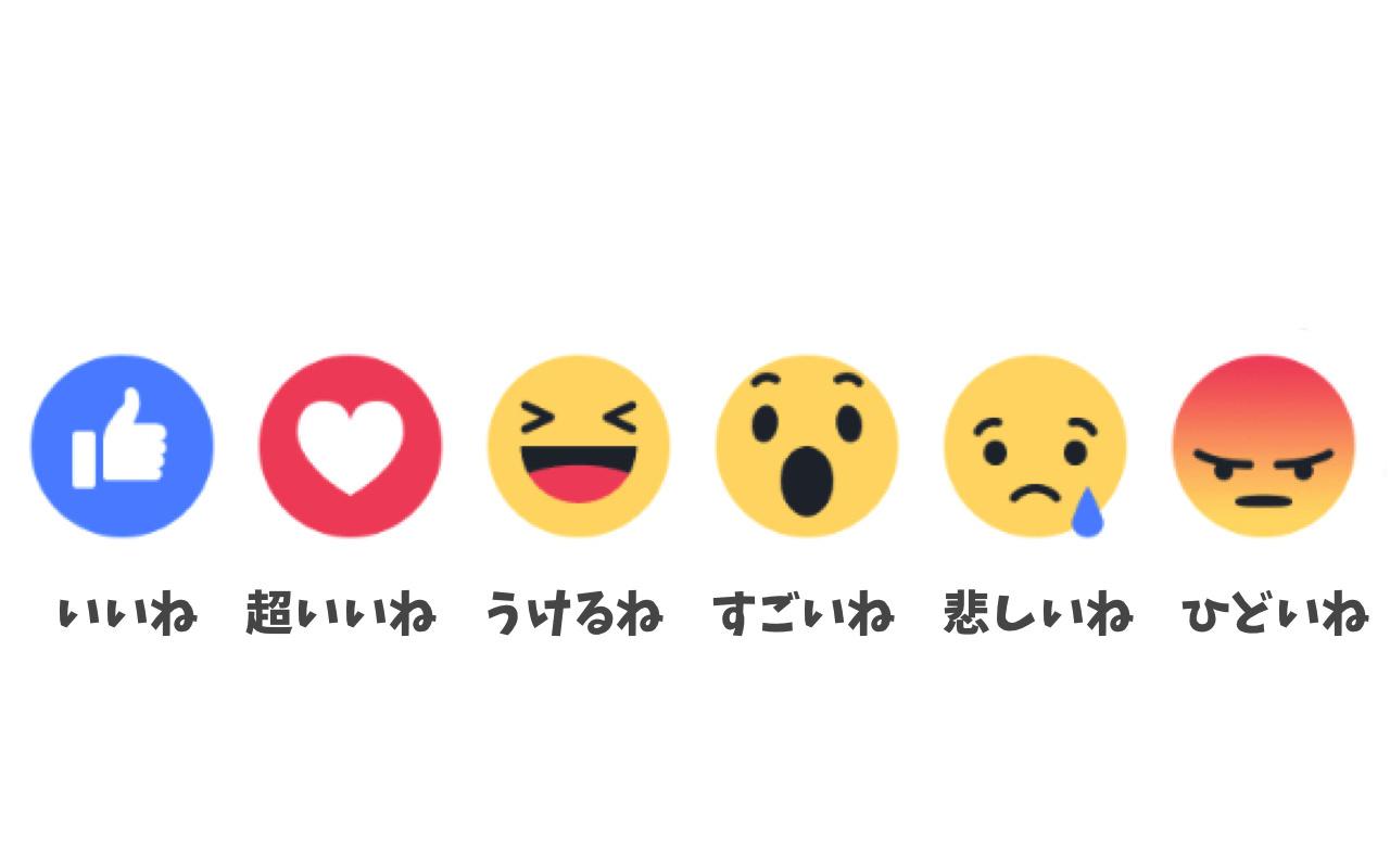 「Facebook」iPhone 公式アプリで「超いいね!」「うけるね」「すごいね」「悲しいね」「ひどいね」を入力する方法