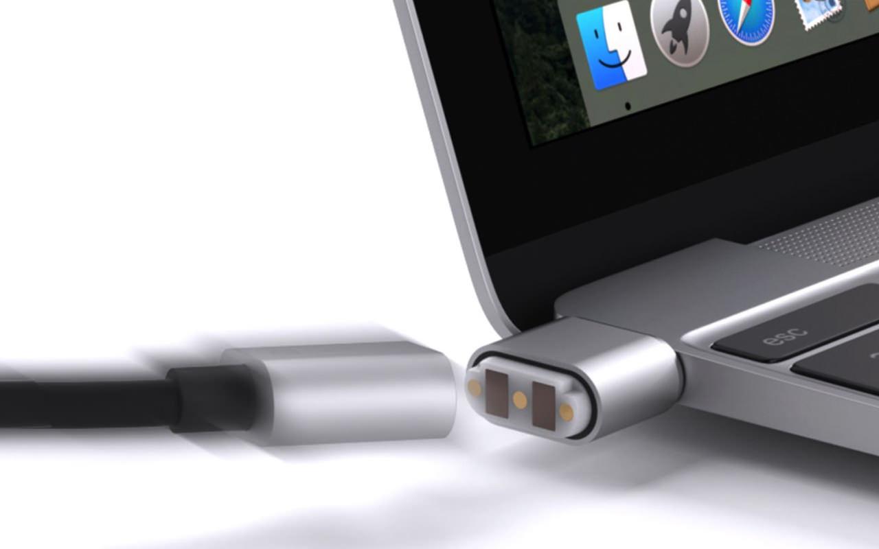 MacBook 12インチをMagSafe アダプタ風に充電できるUSB-C ケーブル「BreakSafe」登場!