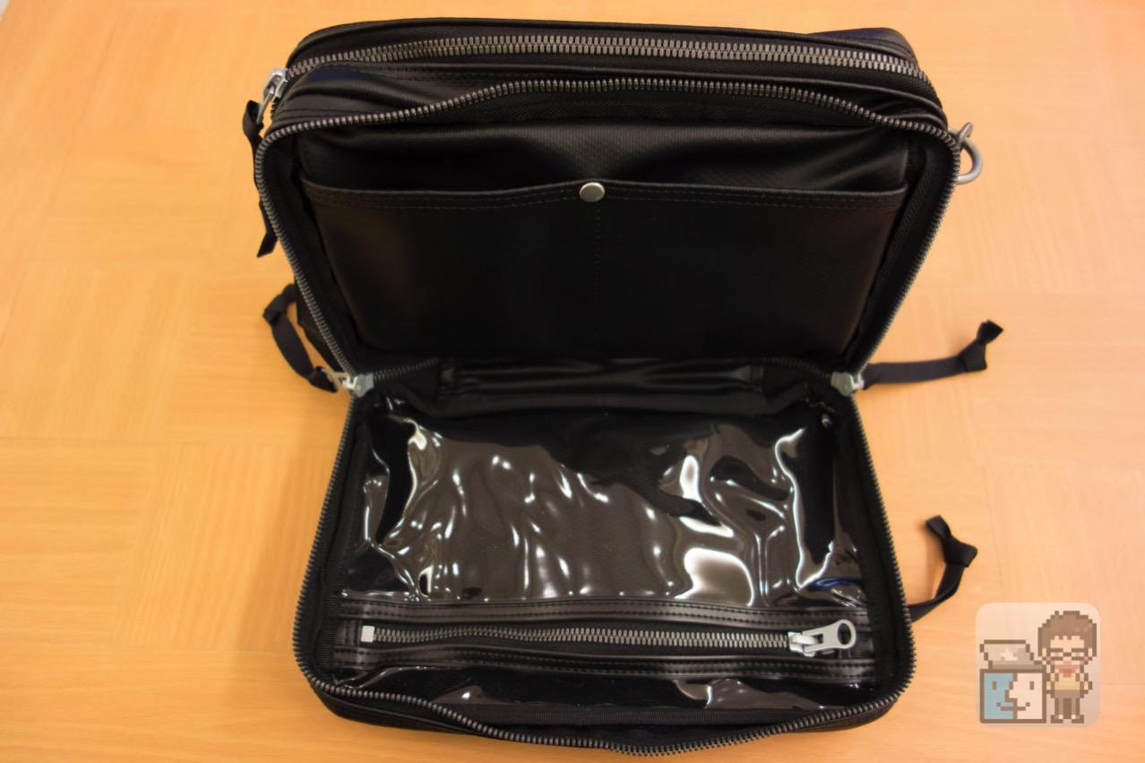 Luggage label new liner shoulder bag3
