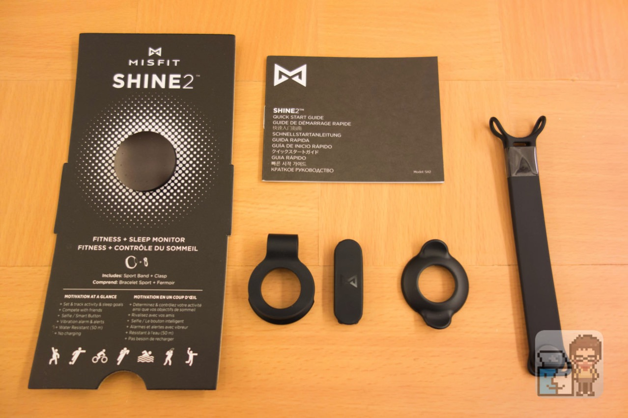 Misfit shine2 unboxing and initial setting9