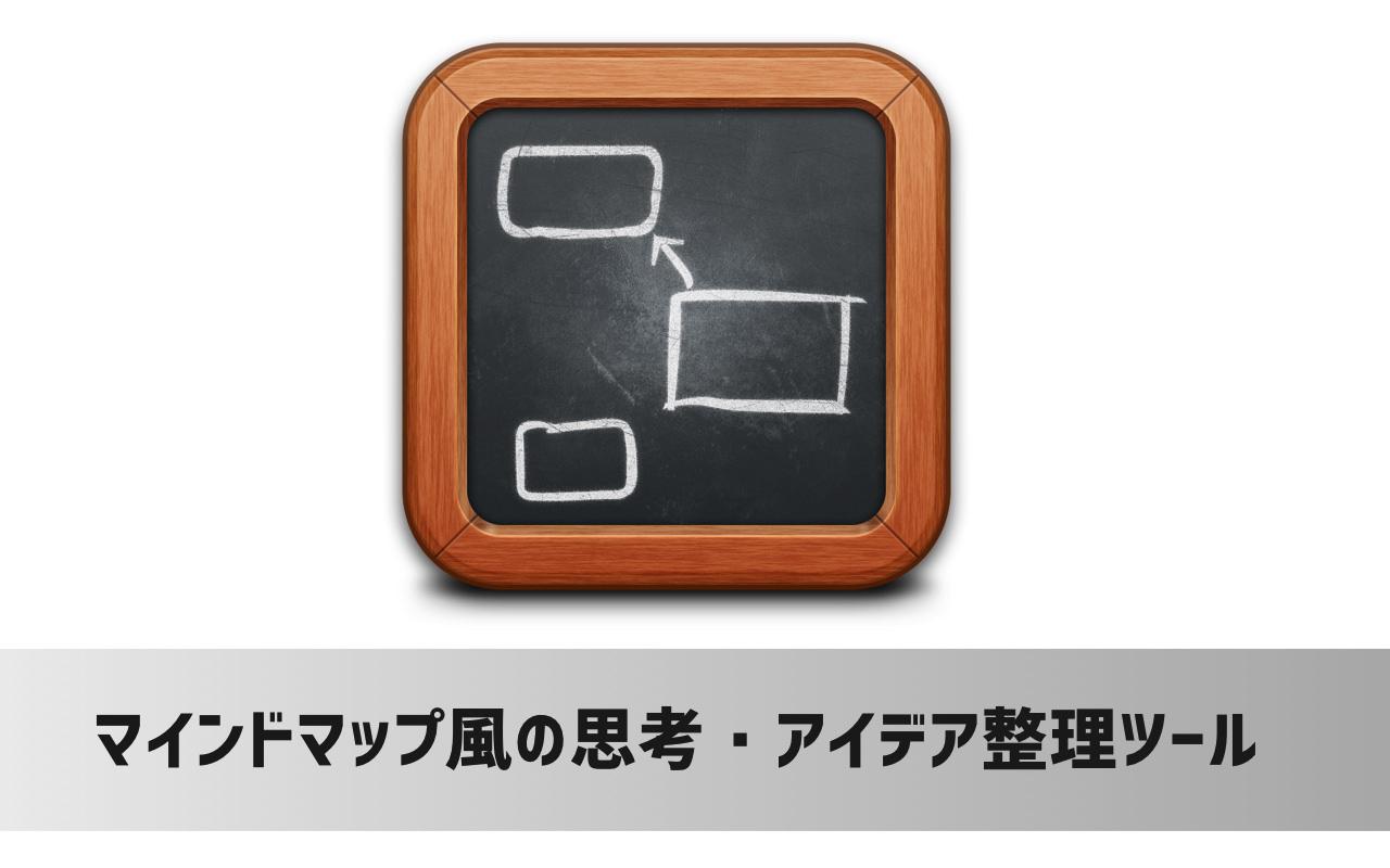 マインドマップみたいに思考・アイデア整理ができるMacアプリ「Scapple」