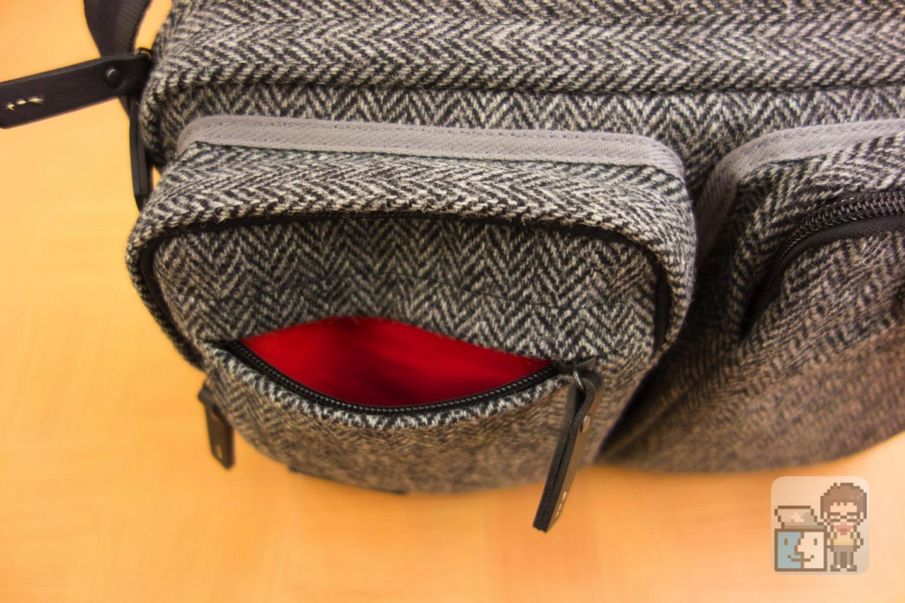 Small shoulder bag harris tweed model for the tablet4