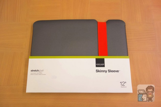 【レビュー】これいいね!MacBook 12インチ対応 超軽量&スリムなスリーブケース「Acme Made(アクミメイド) Skinny Sleeve」