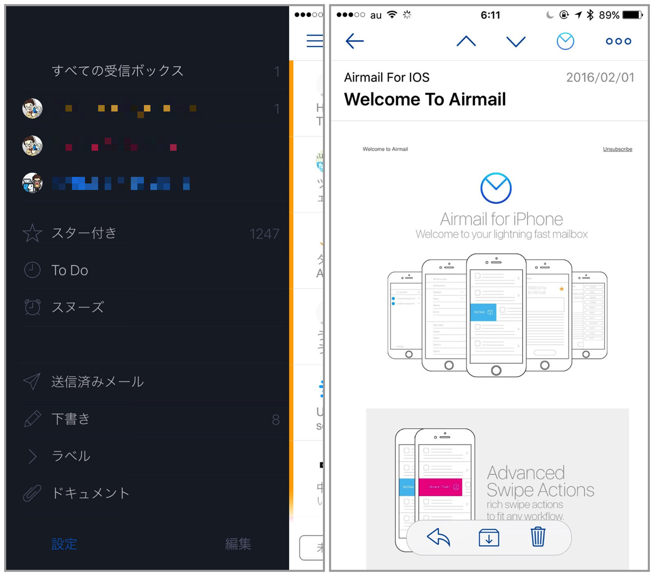 Airmail for iphone6