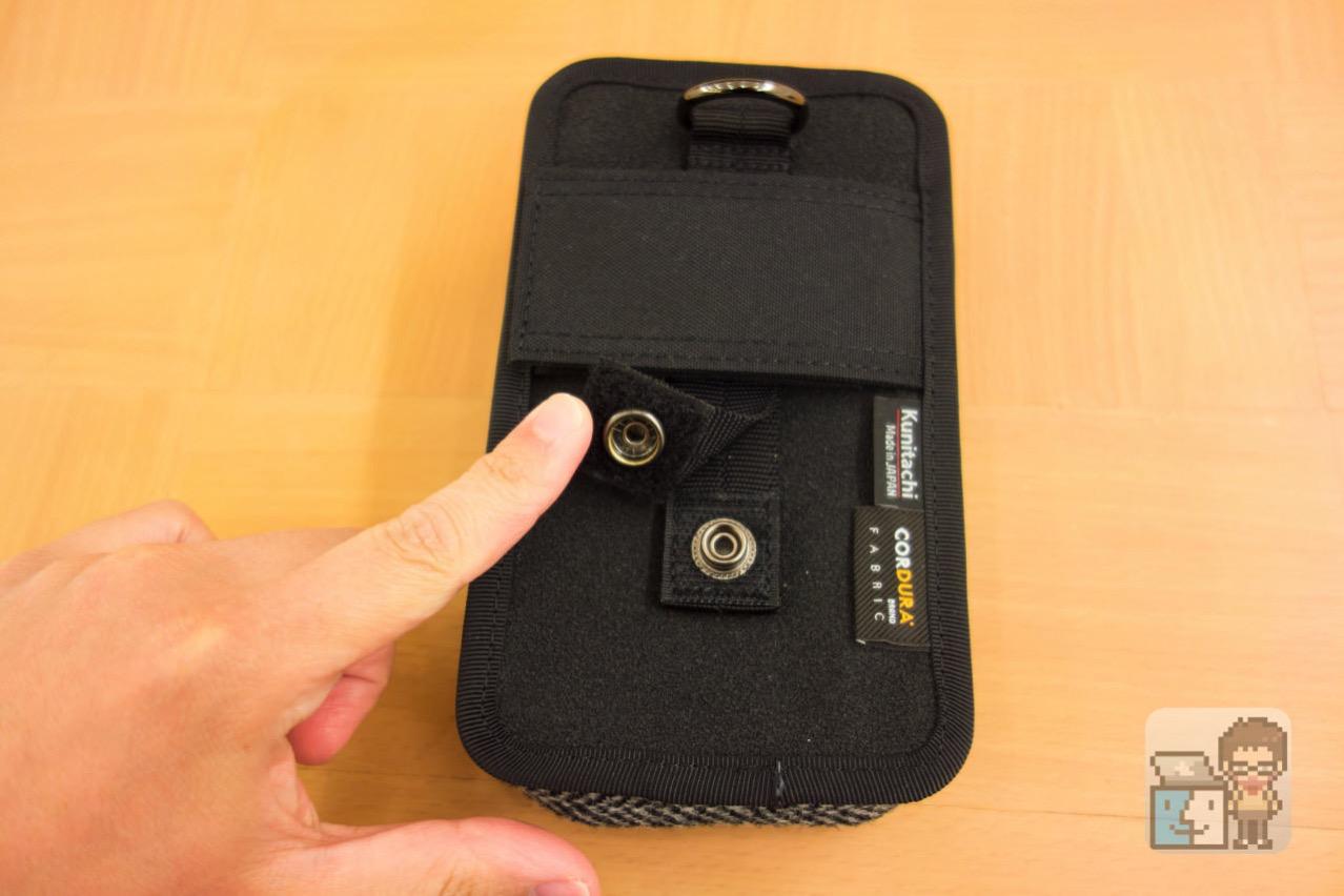 Dual slot case harris tweed edition5