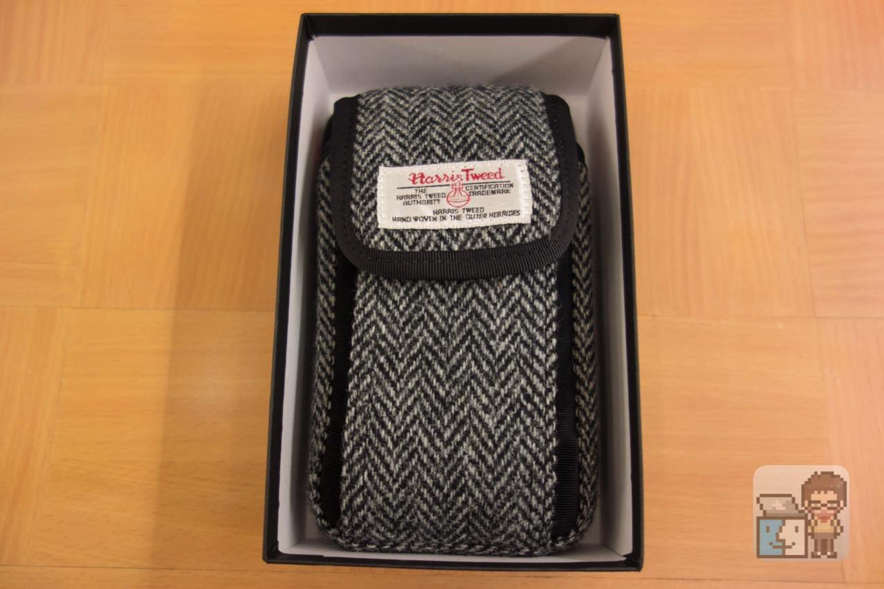 Dual slot case harris tweed edition9