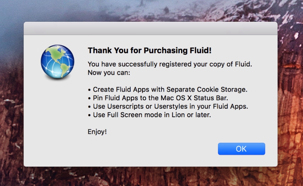 Fluid for mac2