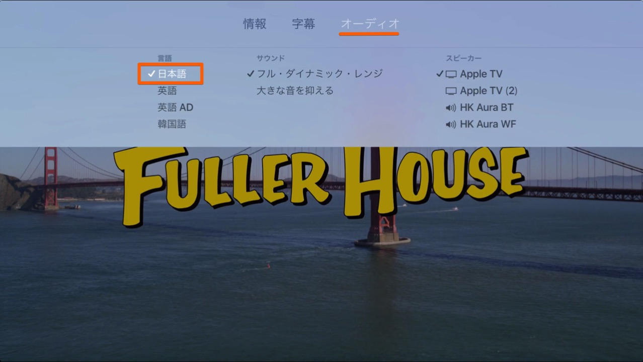 How to set up audio of netflix in japanese dubbing2
