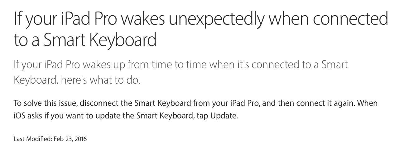 Ipad pro smart keyboard software update1