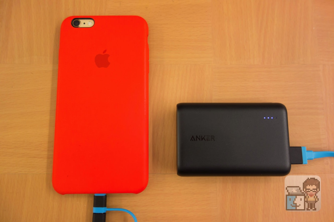 Review anker powercore 100001