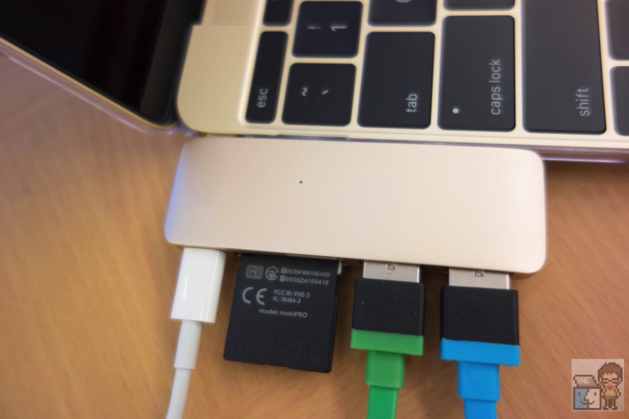 Review satechi type c pass through usb hub with usb c charging port1