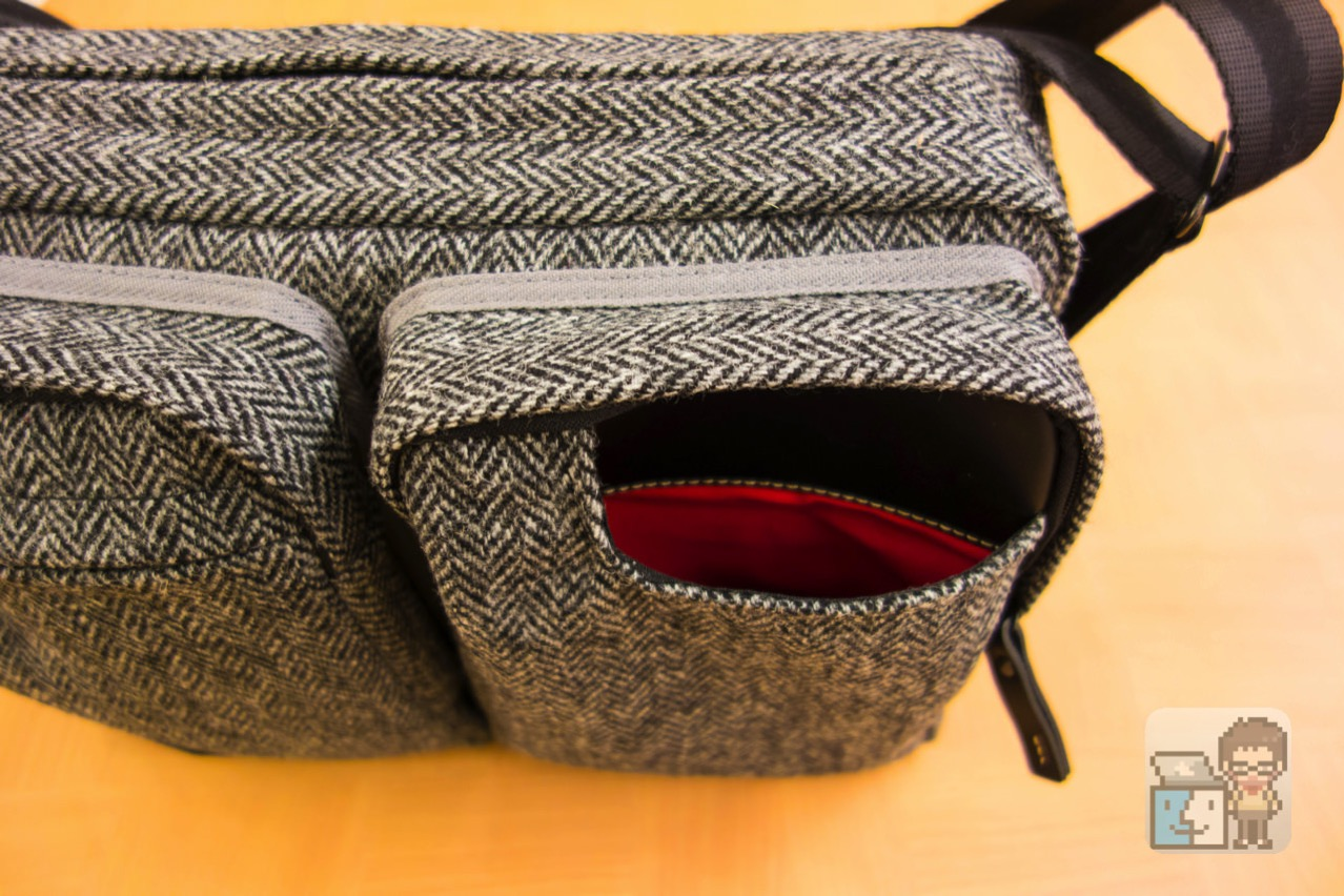 Small shoulder bag harris tweed model for the tablet9