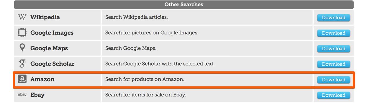 Amazon extension4
