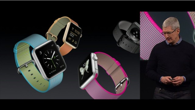 Apple、「Apple Watch」の新しいナイロン製バンドを発表!本体価格は299ドルに値下げに