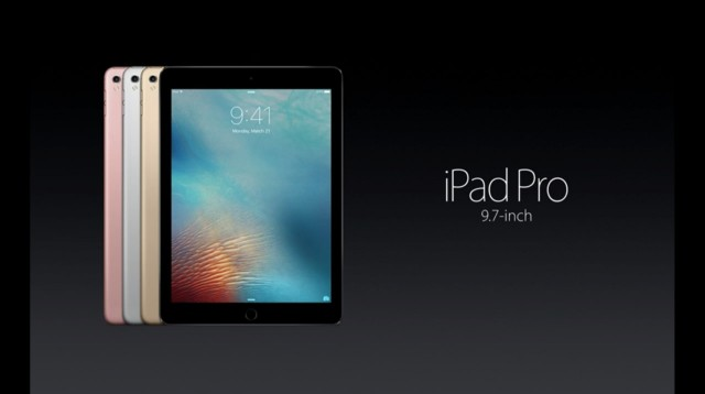 Apple、「iPad Pro」9.7インチを発表!新色ローズゴールド追加、価格は66,800円から