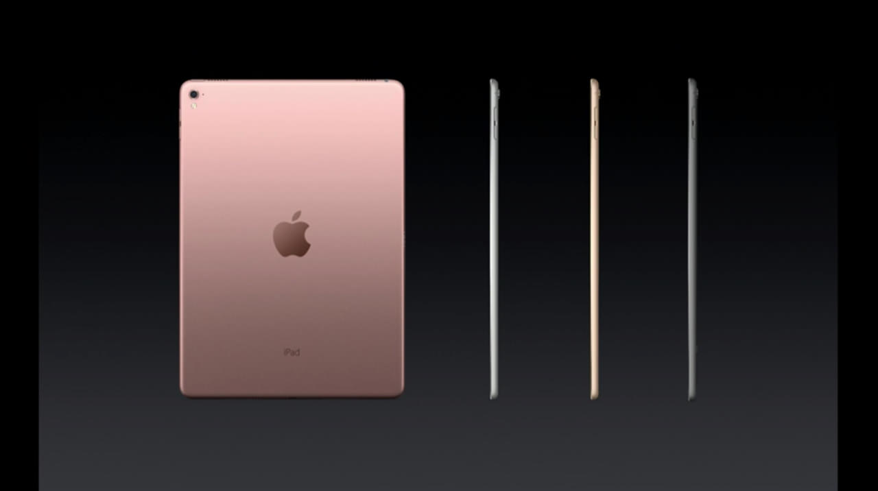 Apple has officially announced the ipad pro 9 7 inch4