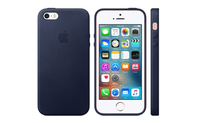 「iPhone SEレザーケース」がApple Online Store で発売開始