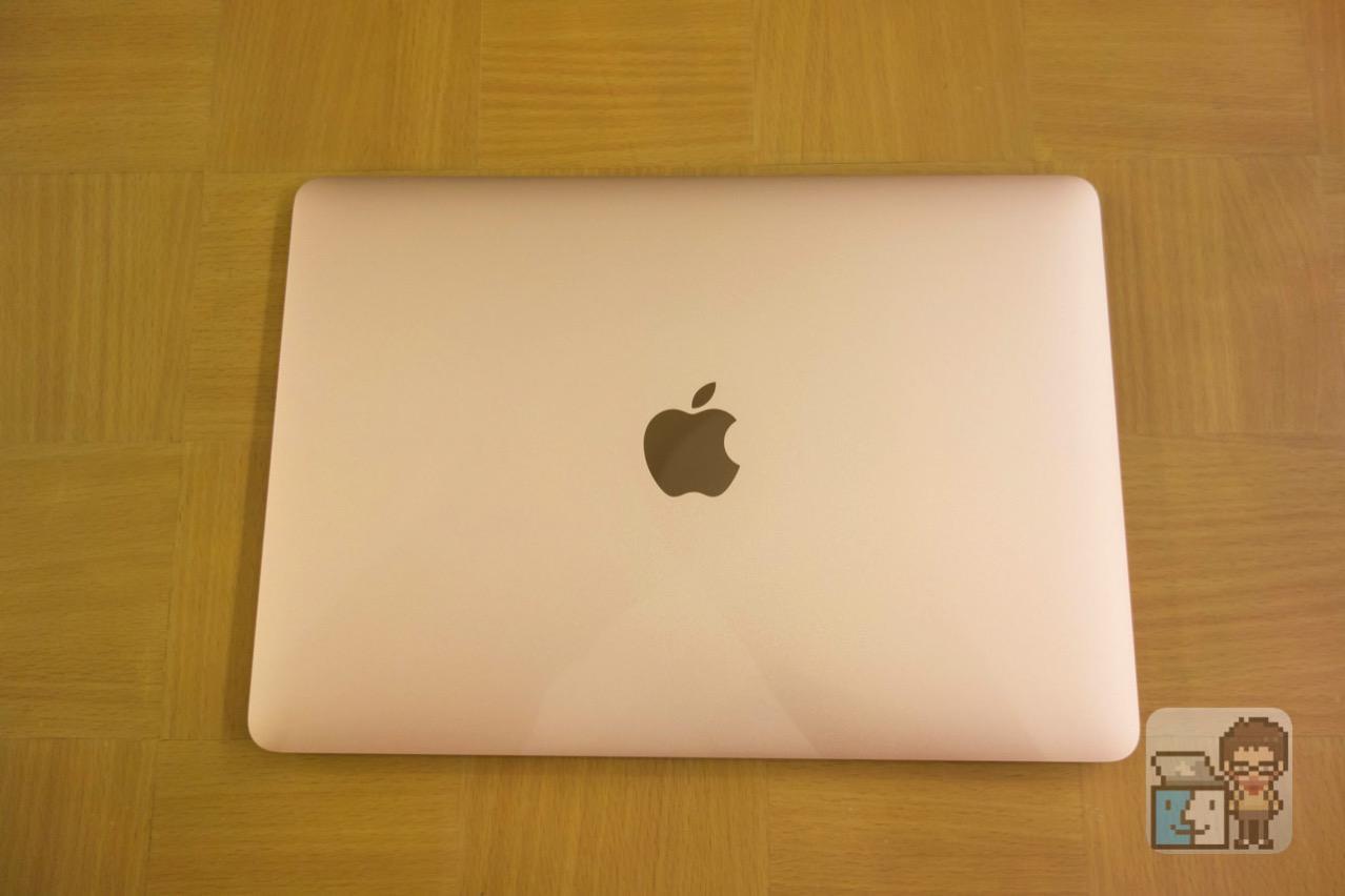 MacBook 12インチ(Early 2016)ローズゴールド・フォトレビュー