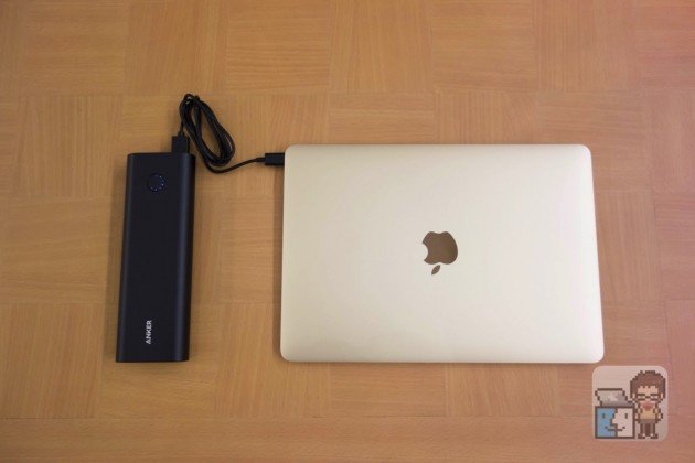 【レビュー】MacBook 12インチの充電心配なし!大容量バッテリー「Anker PowerCore+ 20100 USB-C」