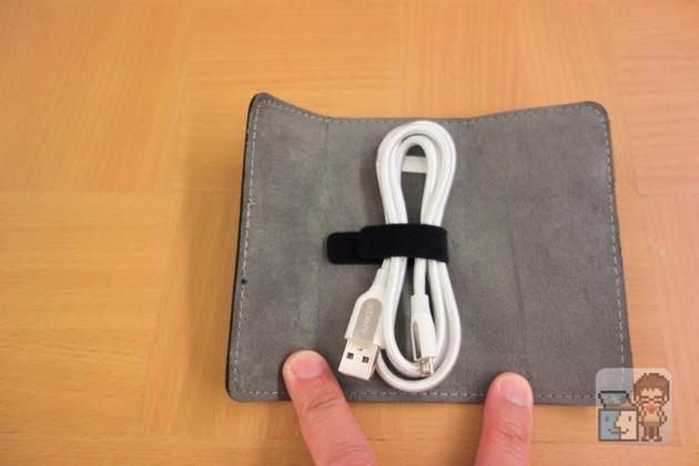 【レビュー】折り曲げても傷まない!フェルトポーチ付きが嬉しい「Anker PowerLine+ Micro USBケーブル」