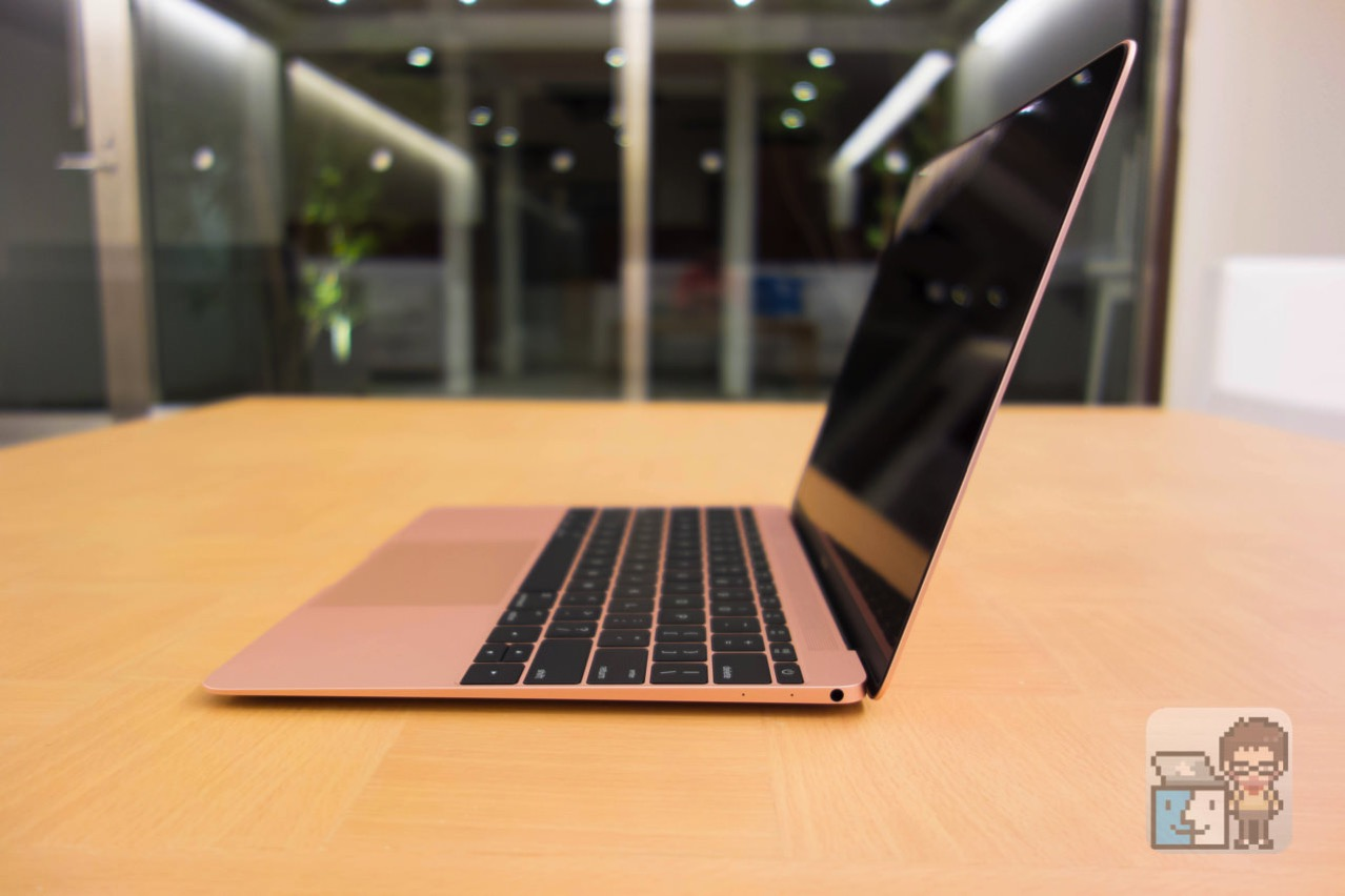 Acbook 12 inch early 2016 rose gold photo review11