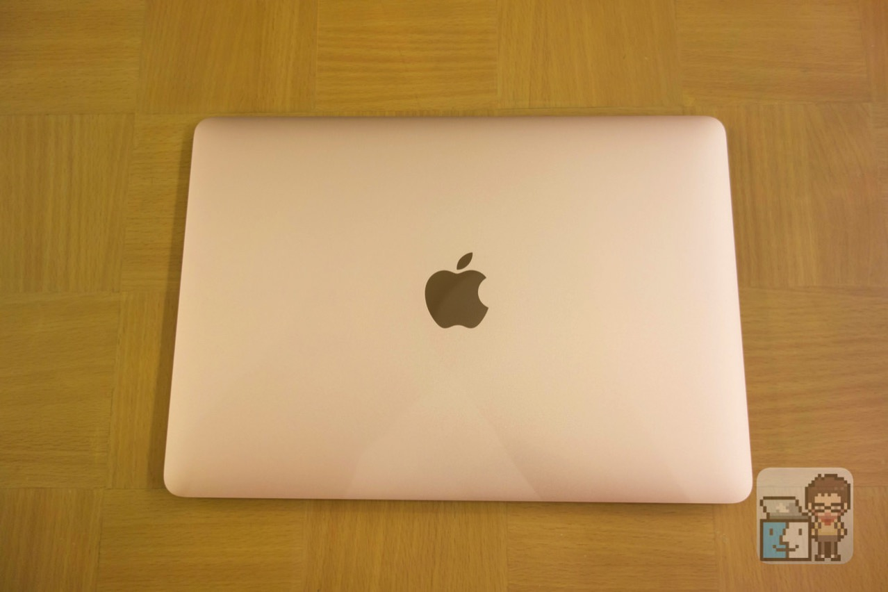 Acbook 12 inch early 2016 rose gold photo review5
