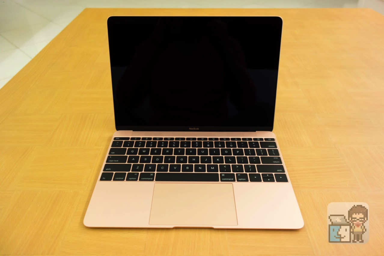 Acbook 12 inch early 2016 rose gold photo review9