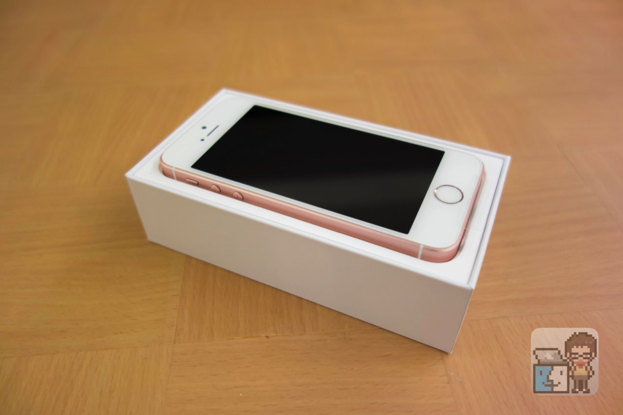 Iphone se rose gold review9
