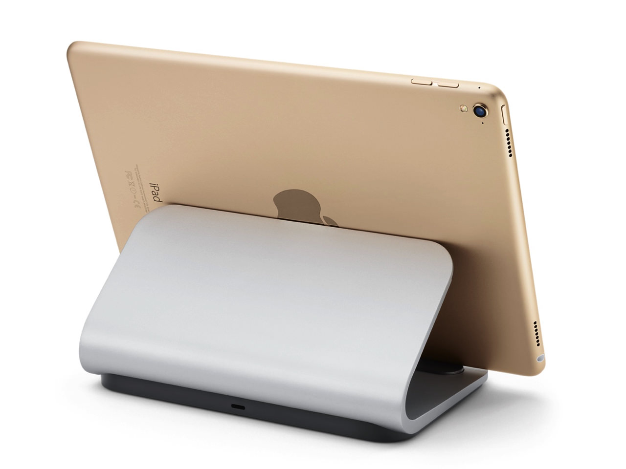 Logi base smart connector with charging stand for ipad pro1